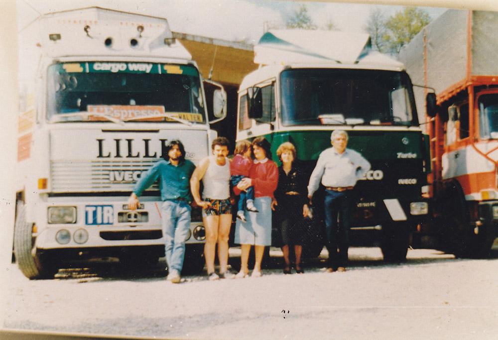 trasporto merci in Umbria