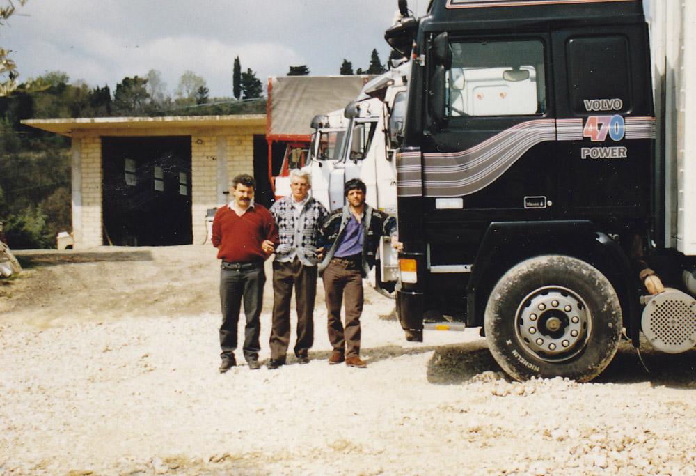 trasporto scarico merci in Umbria